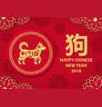 chinese new year poster a hieroglyph signifying a vector image vector image