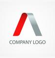 company modern logo vector image vector image