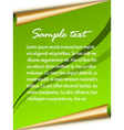 festive sheet vector image vector image