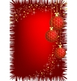 image of christmas background vector image