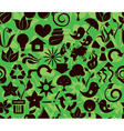 recycle pattern1 vector image vector image