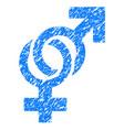 sexual symbols grunge icon vector image vector image