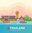 Thailand Travel Destination Concept