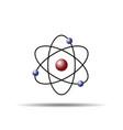 atom molecule symbol flat icon vector image