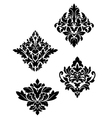 Damask flower patterns vector | Price: 1 Credit (USD $1)