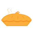 isolated pie icon vector image