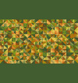 polygonal abstract multicolor mosaic triangle vector image vector image