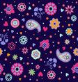 summer floral Summer flower vector image vector image