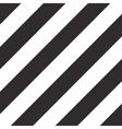 Geometric simple diagonal pattern strips vector image