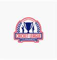 cricket club badge logo-10 vector image