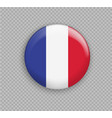 flag of france the right colors and proportions vector image