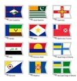 Flags of world-17 vector image vector image