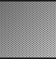 metal seamless background steel pattern vector image vector image