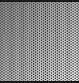 metal seamless background steel pattern vector image