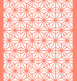 traditional japanese pattern geometric background vector image vector image