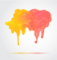 Watercolor Design Element vector image