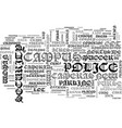 a new first line of defense text word cloud vector image vector image