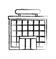 airport terminal building icon vector image