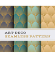 Art Deco seamless pattern 14 vector image vector image