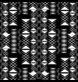 black and white geometric abstract seamless vector image