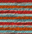 Boho seamless pattern striped vintage background vector image vector image