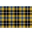 cornish tartan seamless pattern fabric texture vector image