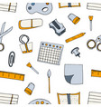 elements school supplies vector image