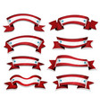 funny american banners set vector image vector image