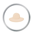 Hat icon of for web and mobile vector image vector image