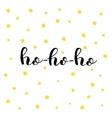 Ho-ho-ho Brush lettering
