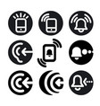 phone call icons vector image vector image