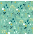 seamless floral pattern Romantic cute vector image vector image