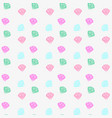 seamless retro pattern with colorful vector image