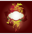 8floral line 22 2 vector image vector image