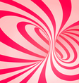 Candy cane spiral background vector image vector image