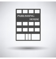 Publishing house icon vector image