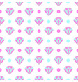 seamless pattern of diamonds and dots vector image vector image