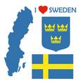 sweden1 vector image vector image