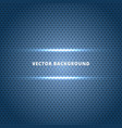 abstract carbon fiber surface with blue light vector image vector image