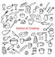 kitchen and cooking i vector image vector image