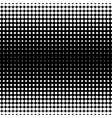 seamless pattern black white different sized vector image vector image