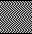 seamless pattern with vertical triangle waves vector image vector image