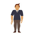 adult male avatar young vector image vector image