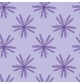 Purple flower seamless pattern 1 vector image vector image