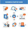 Startup Business Concepts vector image vector image