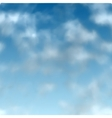 swamless clouds vector image vector image