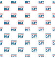 text veterans day pattern seamless vector image vector image