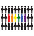 gay motive vector image