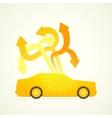car designer vector image