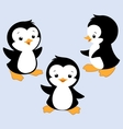 Cartoon Penguin E vector image vector image